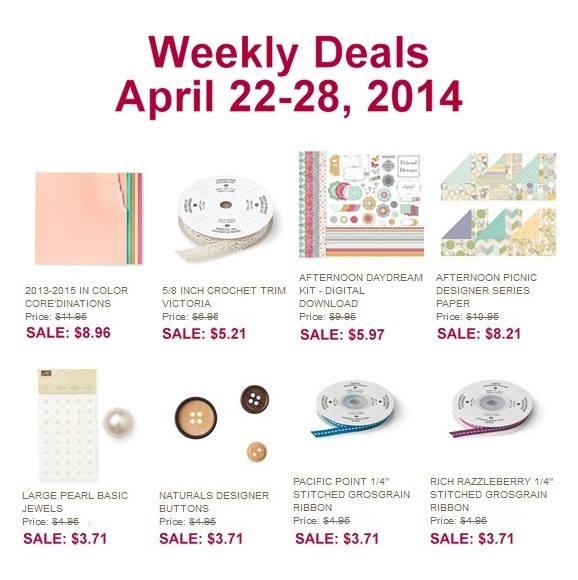 Weekly Deals April 22