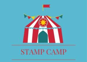 STAMP CAMP POSTCARD